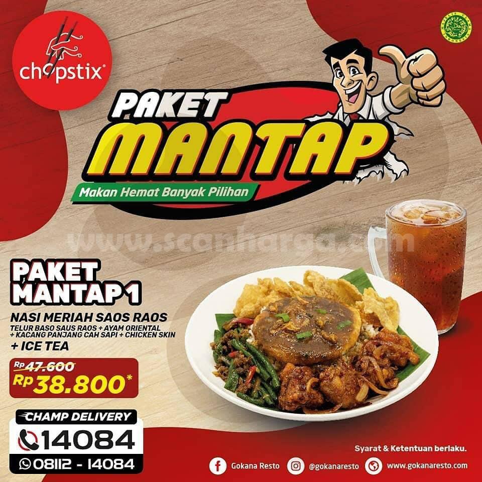 CHOPSTIX Promo PAKET MANTAP! Harga Spesial Serba Rp 38.800