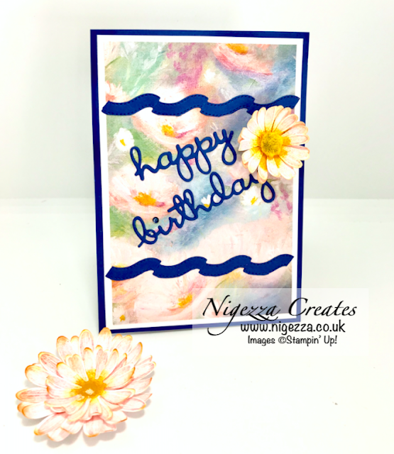 Nigezza Creates with Stampin' Up! Perennial Essence Twist and pop 21st birthday card