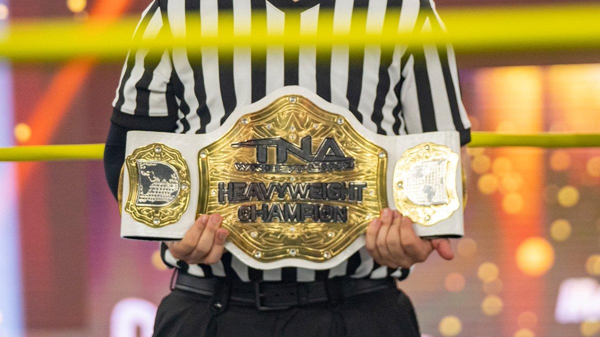 TNA Heavyweight Title é novamente aposentado nas gravações da IMPACT Wrestling