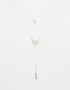 3-Found charm necklaces, $20.33 from ASOS