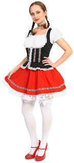 Women's Beer Garden Girl Adult Costume for Halloween
