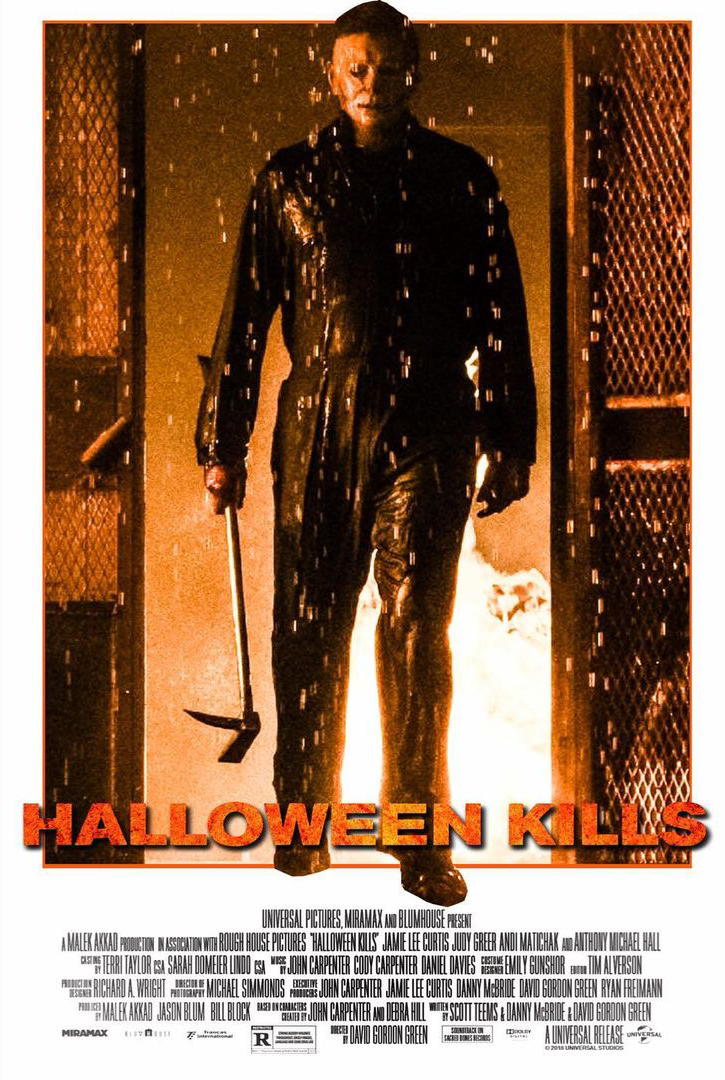 Don't buy a halloween coffin before reading these reviews. The Horrors of Halloween: HALLOWEEN KILLS (2021) Images and Fan Art Poster Collection