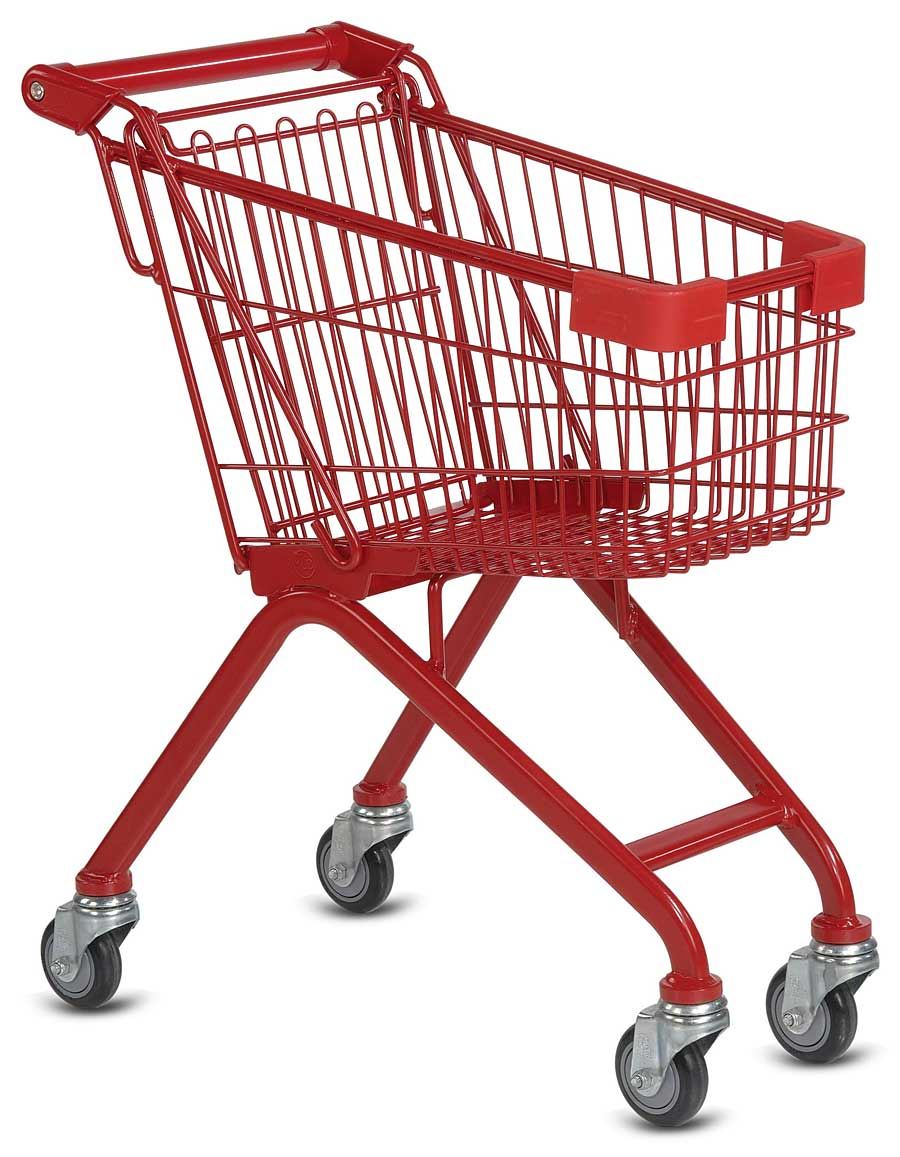 Metal Shelter Grocery Cart : Two men and a little farm big shopping weekend