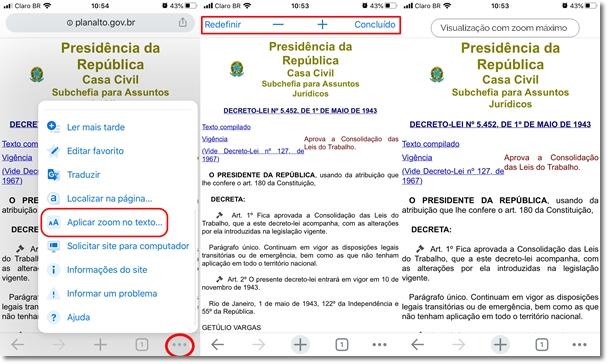 Como Aumentar o Tamanho do Texto pelo Celular no Google Chrome