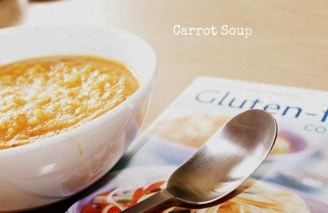 zupa marchewkowa z ryżem