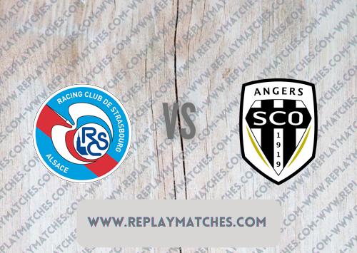 Strasbourg vs Angers -Highlights 08 August 2021