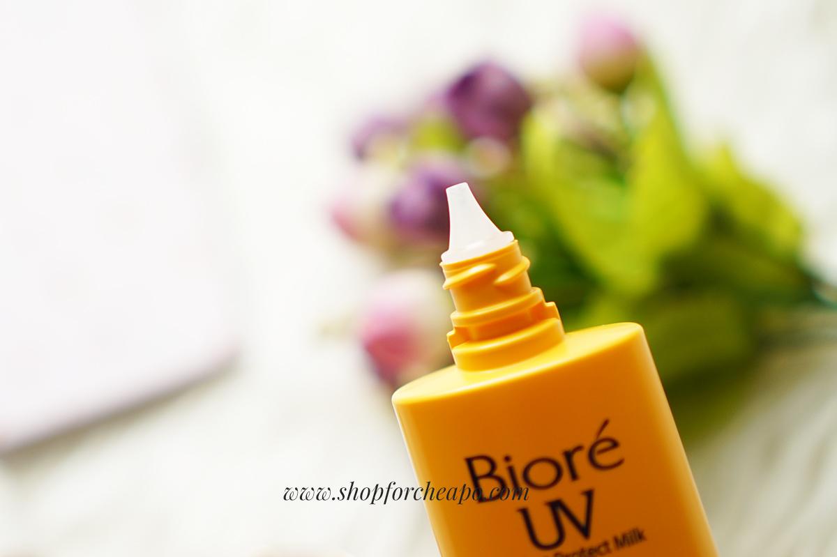 Review Biore UV Perfect Protect Milk Moisture SPF 50+/PA+++