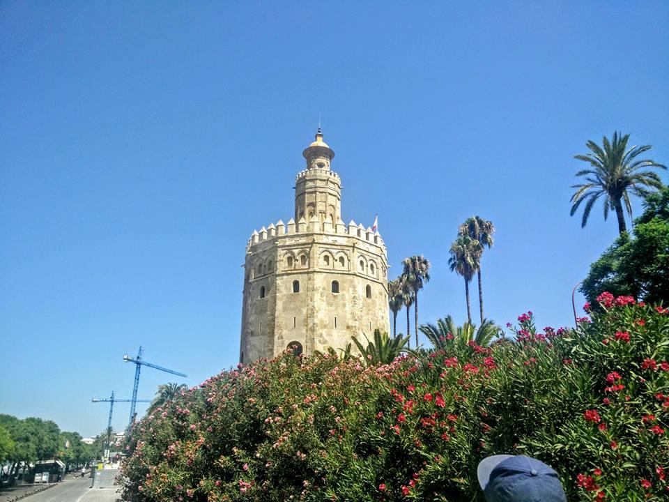 Espange Séville Sevilla Andalousie Torre del Oro