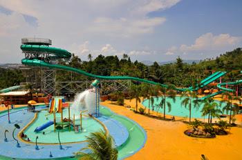 Wahana Lembah Hijau Lampung