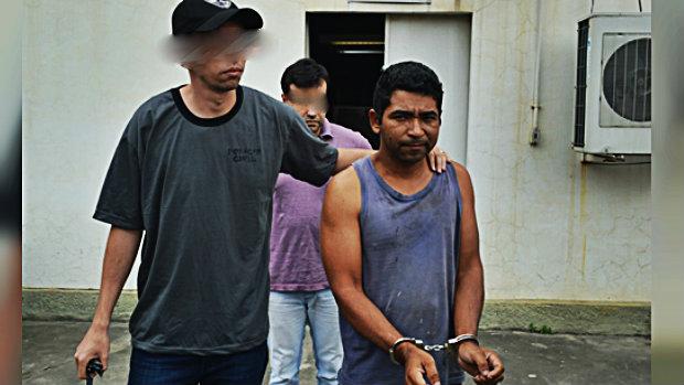 Homem é preso acusado de mandar matar marido da ex-mulher no bairro Xavantes, em Belford Roxo