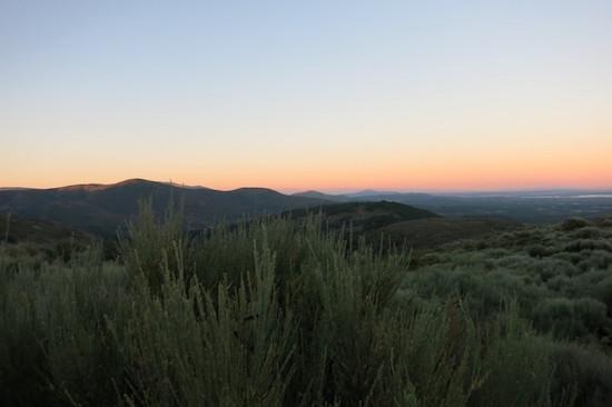 スペイン、ラリータの夜明けの写真