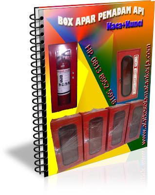 BOX APAR KACA PEMADAM API RINGAN
