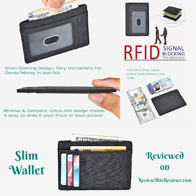 Slim Wallet with RFID Reviewed