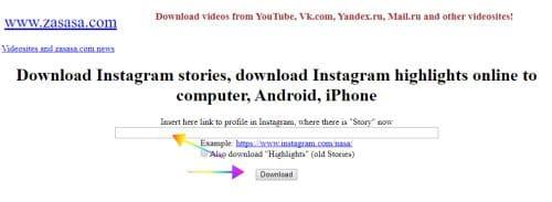 Cara Download Instagram Stories ke PC atau Ponsel