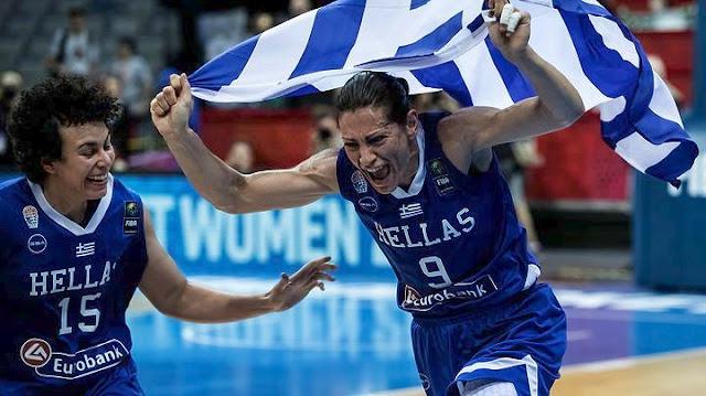 H Εθνική Γυναικών μπάσκετ στον ημιτελικό - Συνέτριψε με 84-55 την Τουρκία