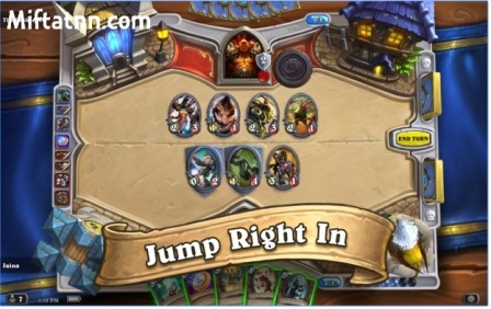 Game Battle Card Hearthstone Heroes of Warcraft APK