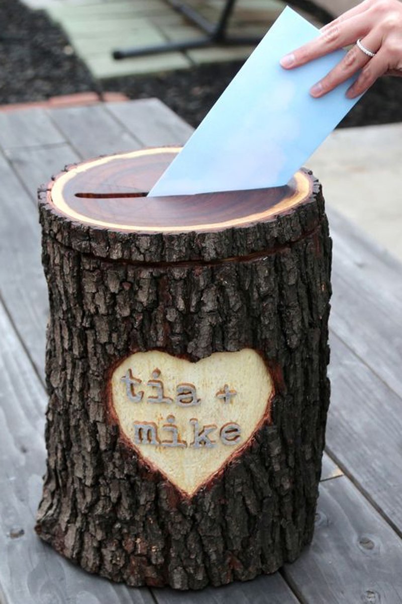 Log Card Holder