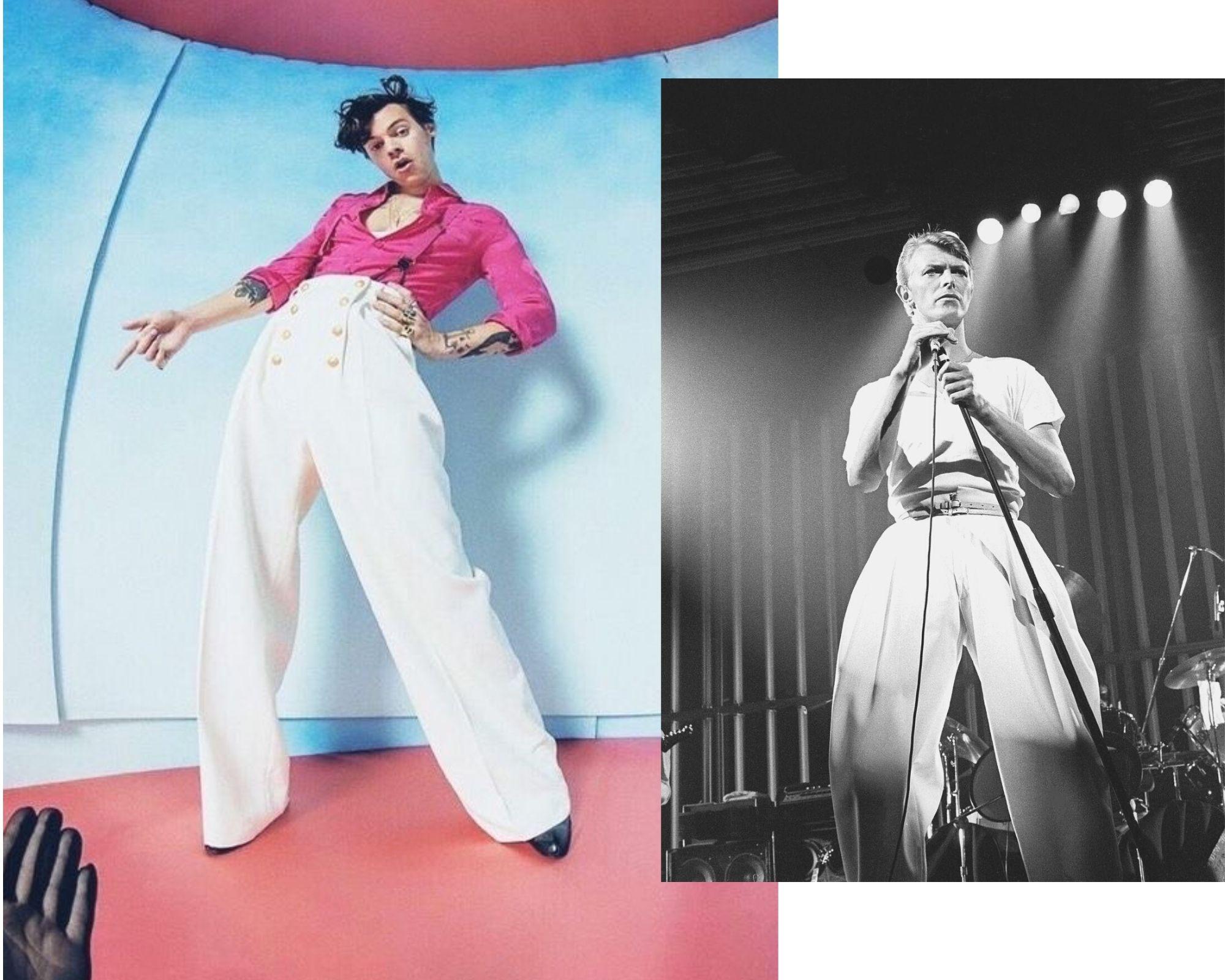 Harry Styles, ¡Inspiración y reinvención de David Bowie!