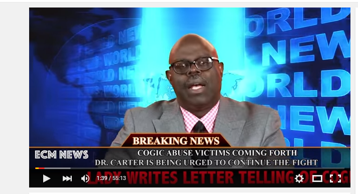 Fix It Jesus: COGIC Abuse Victims Coming Forth! | The Old Black Church