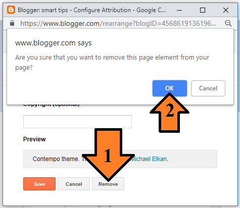 How to Remove Powered By Blogger from Your Blog?