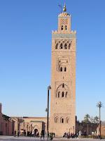 Mezquita; Minarete; Almohade; Mosque; Mosquée; Kutubia; Koutoubia; Kutubiya; Marrakech; مراكش; ⴰⵎⵓⵔⴰⴽⵓⵛ; Marruecos; Morocco; Maroc; المغرب
