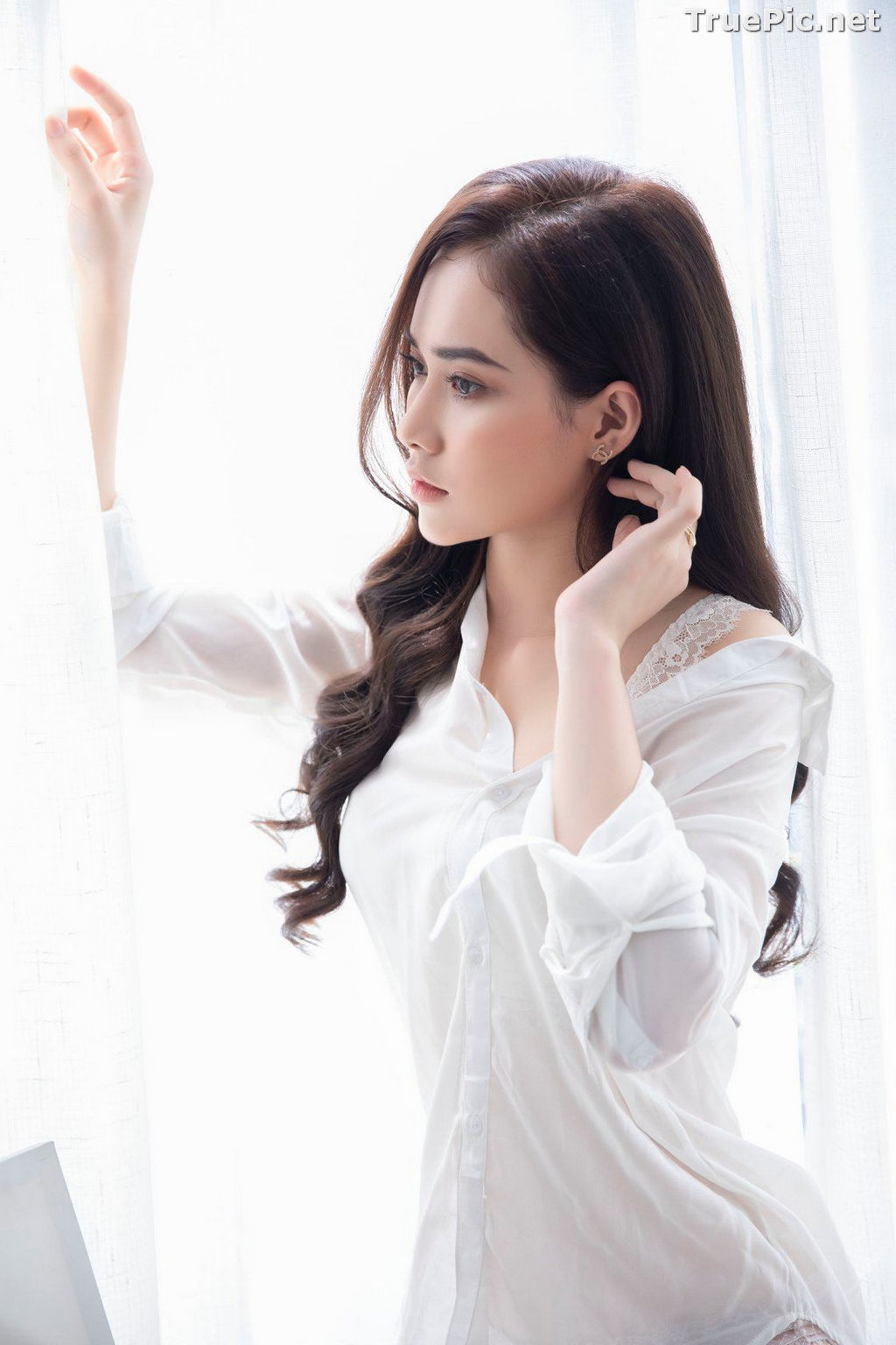Image Vietnamese Model - Hot Beautiful Girls In White Collection - TruePic.net - Picture-7