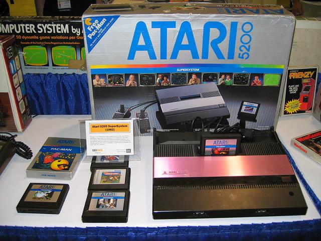 1982. ATARI 5200 Console