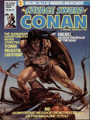 Savage Sword of Conan #40, Marvel UK