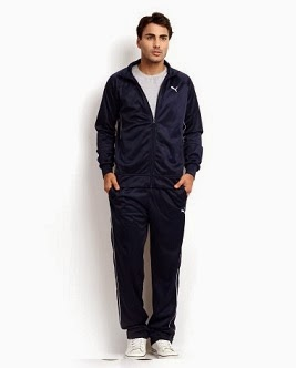 4d539a7def3a Puma Men Navy Tracksuit worth Rs.3999 for Rs.1638 Only (Free Home Delivery)  - Getfreedeals.co.in