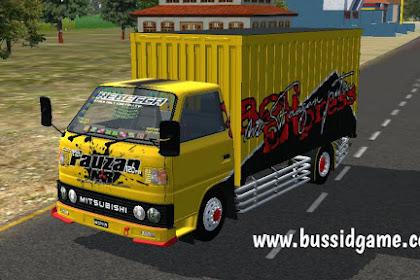 Mod Truck Mitsubishi Umplung Box By Fauzan NR