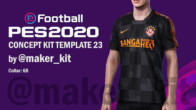 eFOOTBALL PES2020 Concept Kit Template 23 by @maker_kit