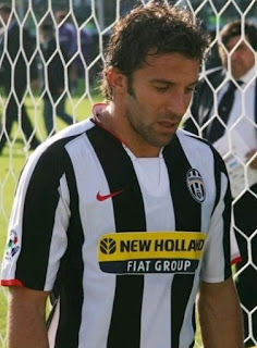 Alessandro del Piero played for 19 seasons at Juventus, scoring 290 goals