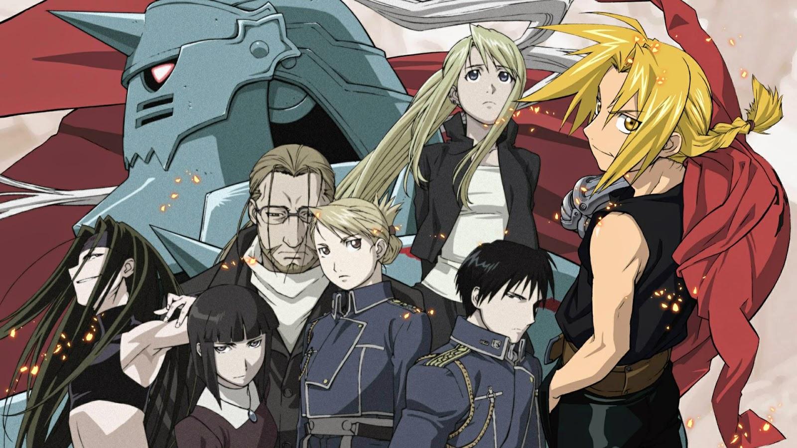 Kết quả hình ảnh cho Fullmetal Alchemist: Brotherhood