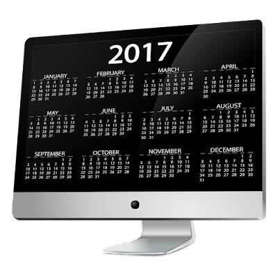Happy New Year 2017 PNG Calendar Images