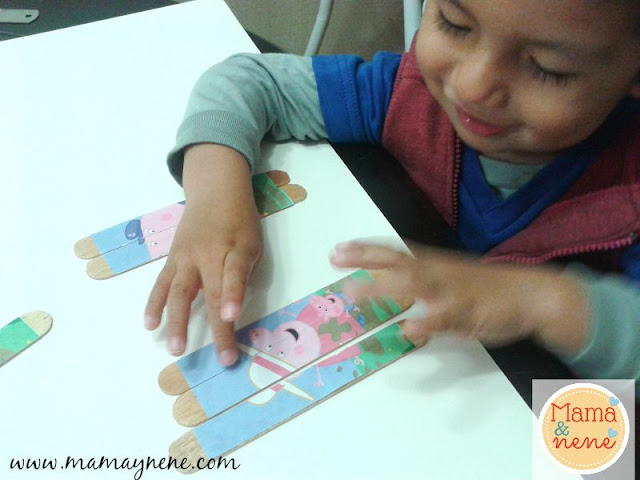 PUZZLE-PEPPA-PIG-KIDS-CRAFT-MAMAYNENE