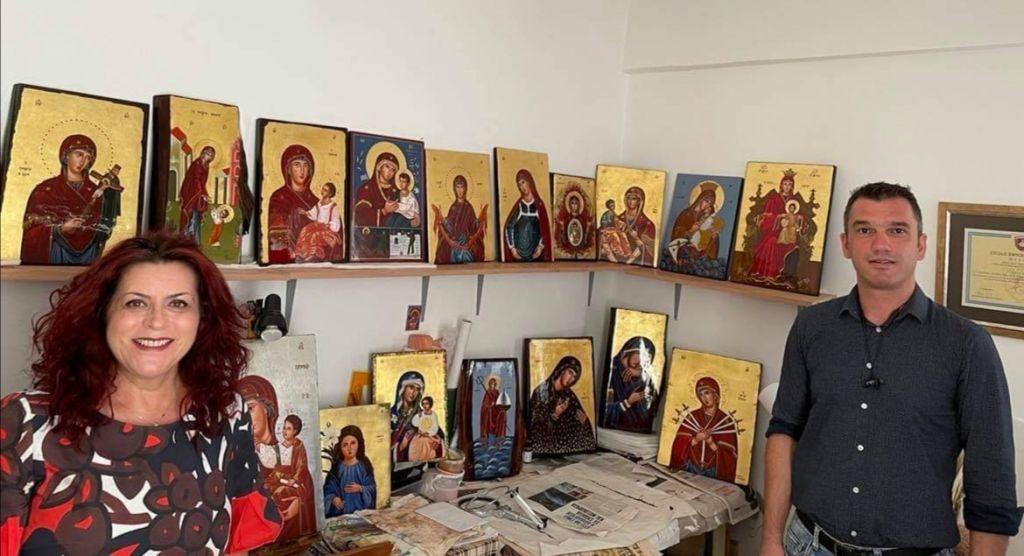 Οι ανέγνωρες μορφές της Παναγίας σε μια έκθεση αγιογραφίας στο Καστελόριζο