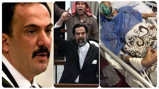 """وفاة شنيعة """" للقاضي العراقي محمد عريبي الذي حاكم صدام حسین"""