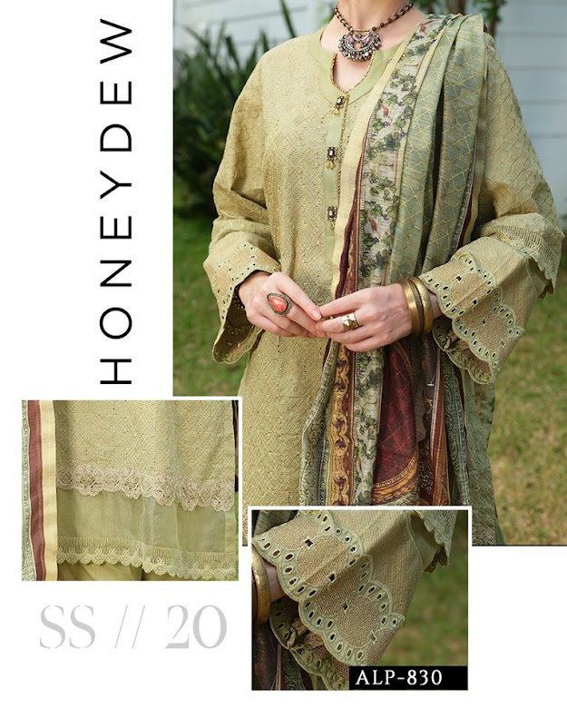 Almirah Unstitched Eid collection 2020