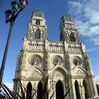 La cathédrale Sainte-Croix d'Orléans, 19 octobre 2017 / photo S. Mazars
