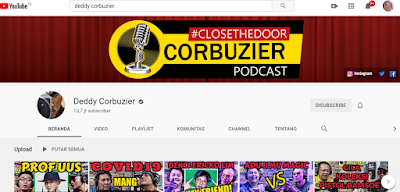 Channel Podcast Deddy Corbuizer