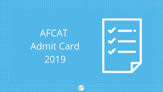AFCAT Admit Card 02/2019