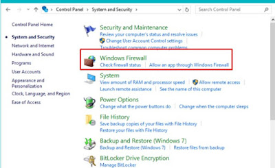 Cara blokir software dengan windows firewall windows 10