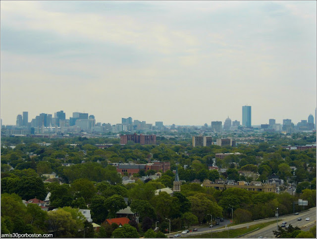 Vistas del Skyline de Boston