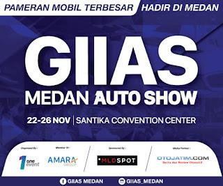 GIIAS Medan Autoshow