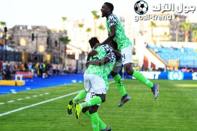 نتيجة مواجهة نيجيريا وجنوب افريقيا في كأس الأمم الإفريقية