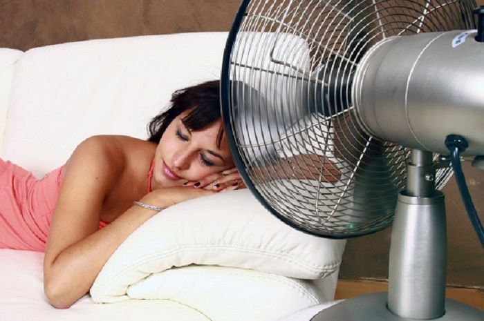 Do not Use Fans When Sleeping at Night