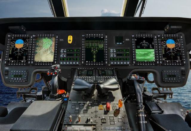 Sikorsky CH-53K cockpit