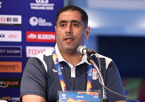 HLV U23 Jordan: Chúng tôi hài lòng nếu hòa UAE