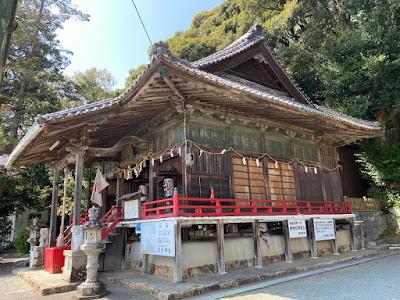 舘山寺 太刀山愛宕神社