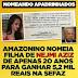 """Nejmy Aziz cantou """"Ama ama ama o Amazonas"""" e conseguiu meu primeiro emprego para a filhinha, só 5,2 mil por mês,  pobrezinha"""